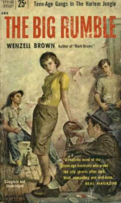 Popular Library - The Big Rumble - Wenzell Brown