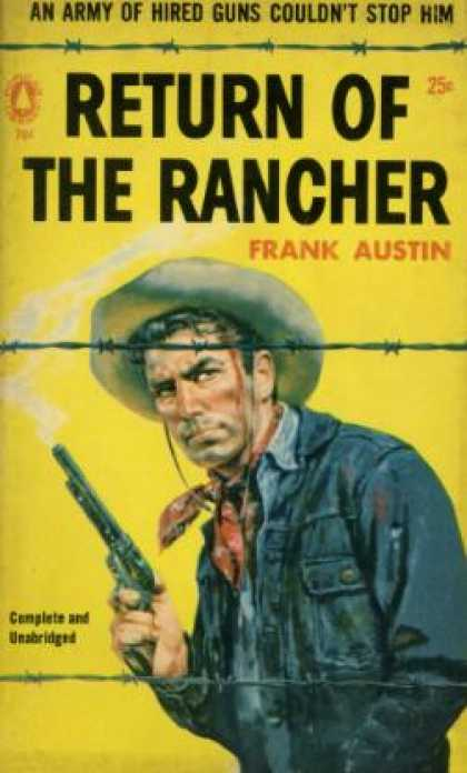 Popular Library - Return of the Rancher - Max Brand (as Frank Austin)