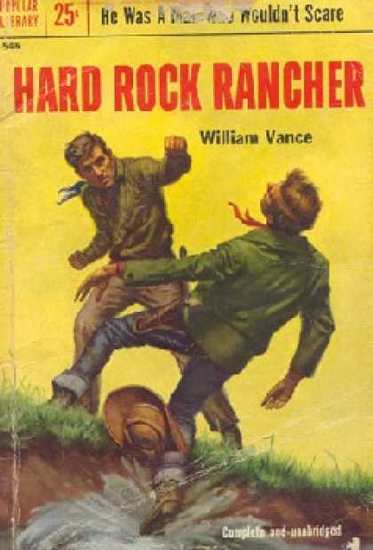 Popular Library - Hard Rock Rancher - William Vance