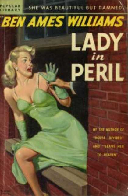 Popular Library - Lady In Peril - Ben Ames Williams