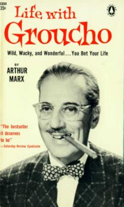 Popular Library - Life With Groucho - Arthur Marx