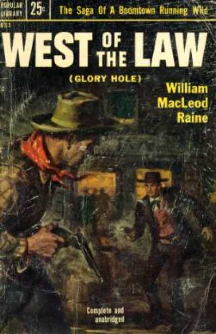 Popular Library - West of the Law - William Macleod Raine