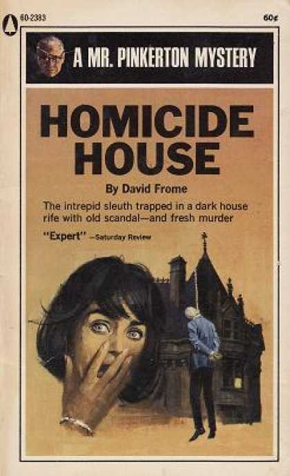 Popular Library - Homicide House: Mr. Pinkerton Returns - David Frome