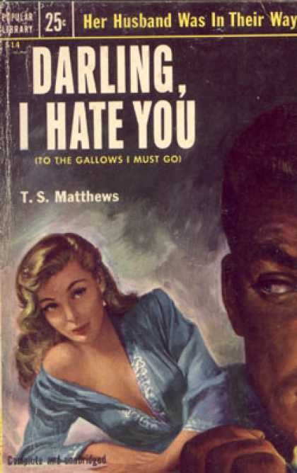 Popular Library - Darling, I Hate You - T.s. Matthews