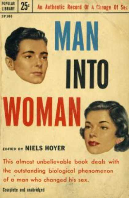 Popular Library - Man Into Woman - Niels Hoyer