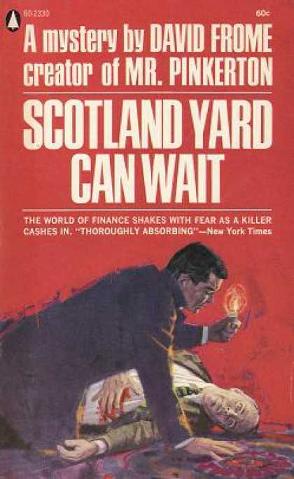 Popular Library - Scotland Yard Can Wait - David Frome