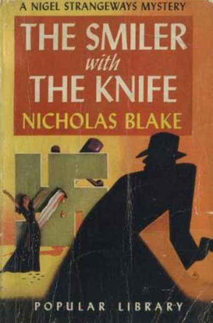 Popular Library - The Smiler With the Knife (vintage Pop Library, #41) - Nicholas Blake