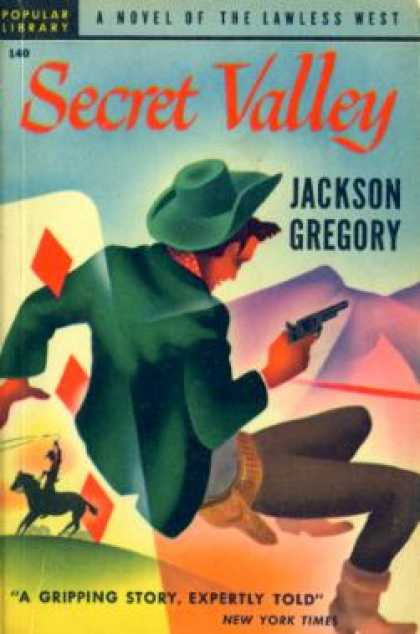 Popular Library - Secret Valley - Jackson Gregory