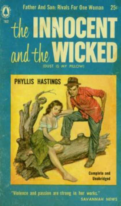 Popular Library - The Innocent and the Wicked - Phyllis Hastings