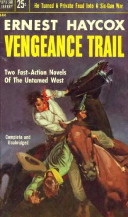 Popular Library - Vengeance Trail - Ernest Haycox