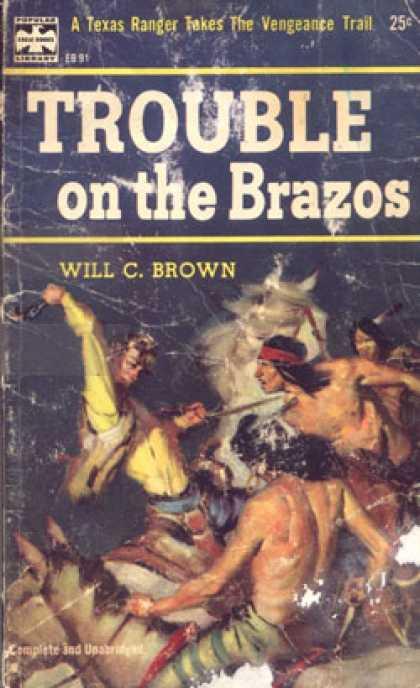 Popular Library - Troble on the Brazos - Will C. Brown