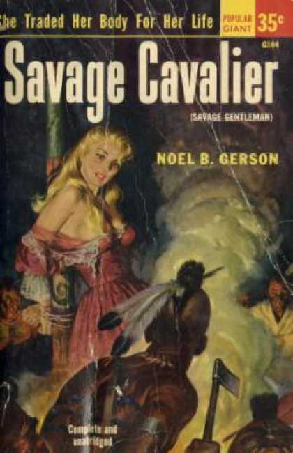 Popular Library - Savage Cavalier - Noel Bertram Gerson