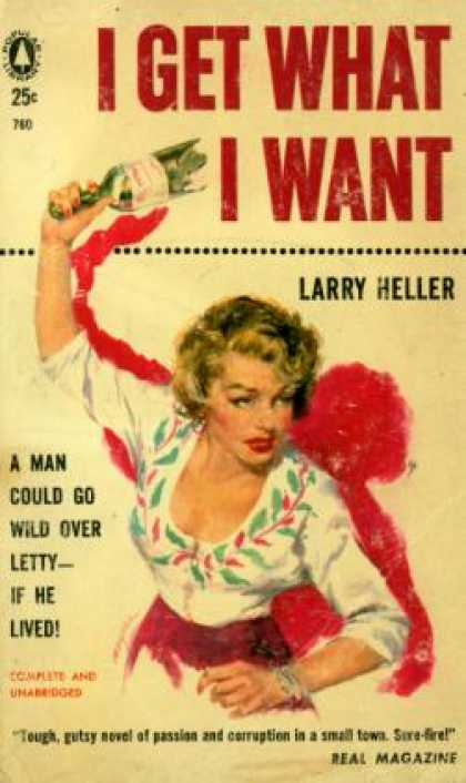 Popular Library - I Get What I Want - Larry Heller