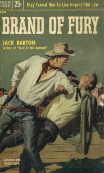 Popular Library - Brand of Fury - Jack Barton