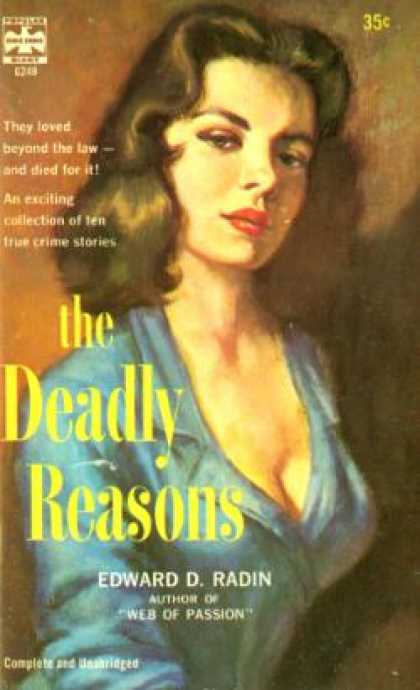 Popular Library - The Deadly Reasons - Edward D. Radin