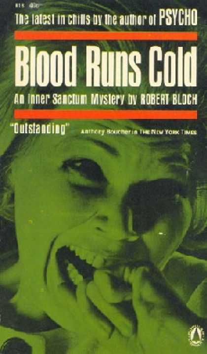 Popular Library - Blood Runs Cold - Robert Bloch