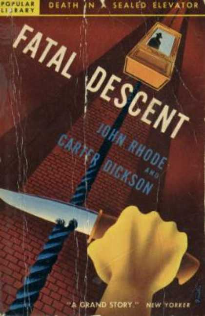 Popular Library - Fatal Descent - John Rhode and Carter Dickson