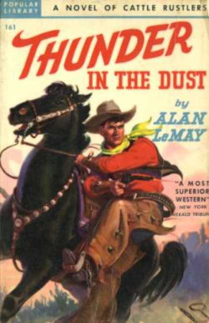 Popular Library - Thunder In the Dust - Alan Lemay
