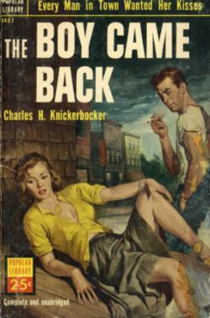 Popular Library - The Boy Came Back - Charles H Knickerbocker