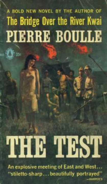 Popular Library - The Test - Pierre Boulle