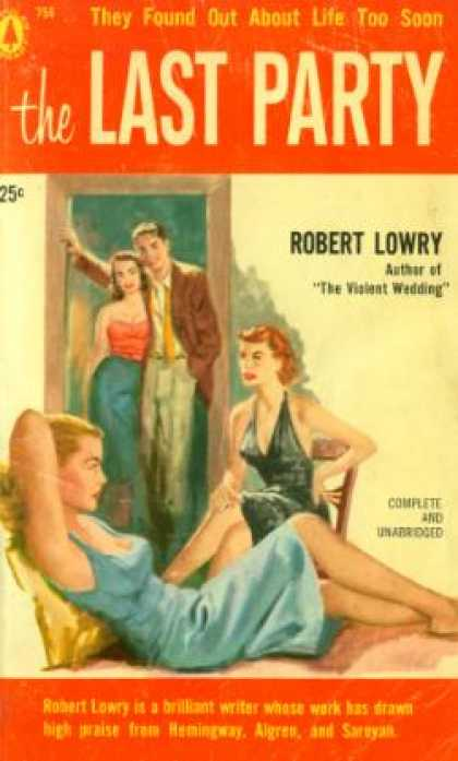 Popular Library - The Last Party - Robert Lowry