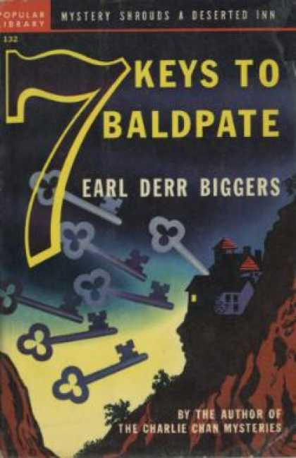 Popular Library - 7 Keys To Bald Pate - Earl Derr Biggers