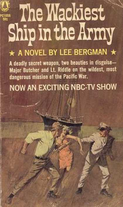 Popular Library - The Wackiest Ship In the Army - Lee Bergman