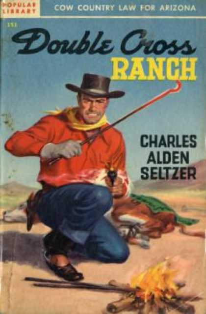 Popular Library - Double Cross Ranch - Charles Alden Seltzer