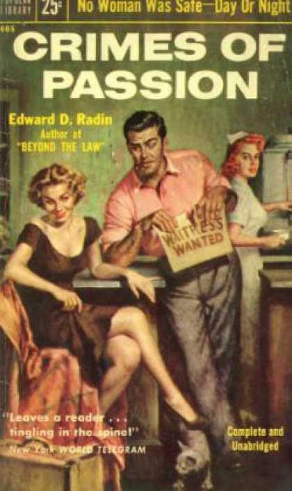 Popular Library - Crimes of Passion - Edward D Radin