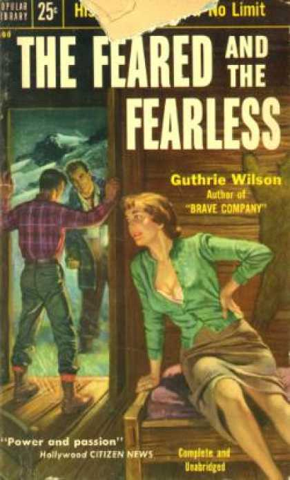 Popular Library - The Feared and the Fearless - Guthrie Wilson