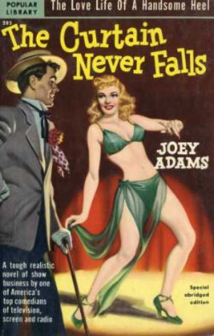 Popular Library - The Curtain Never Falls - Joey Adams
