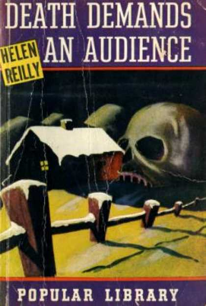 Popular Library - Death Demands an Audience - Helen Reilly