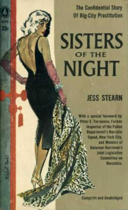 Popular Library - Sisters of the Night - Jess Stearn