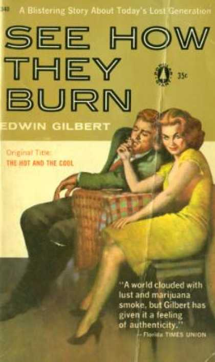 Popular Library - See How They Burn - Edwin Gilbert