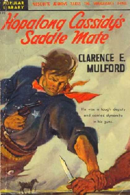Popular Library - Hopalong Cassidy's Saddle Mate - Clarence Edward Mulford