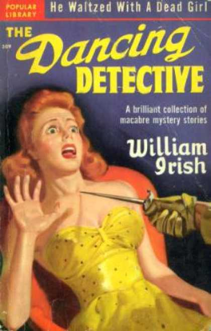 Popular Library - The Dancing Detective - William Irish (pseud. Cornell Woolrich)