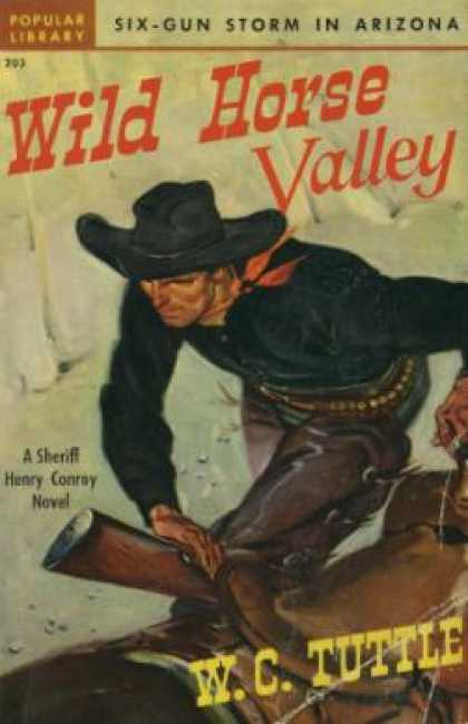 Popular Library - Wild Horse Valley: A Sheriff Henry Conroy Novel - W.c. Tuttle