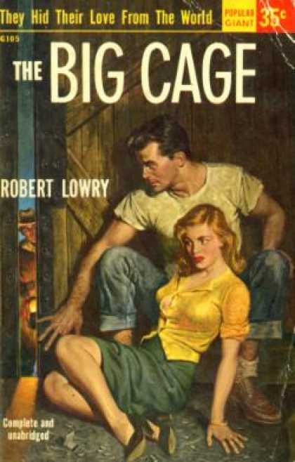 Popular Library - Big Cage, the - Robert Lowry