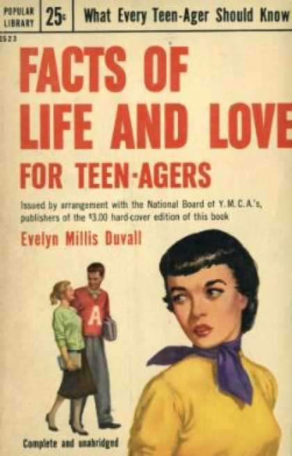 Popular Library - Facts of Life and Love for Teen-agers - Evelyn Ruth Millis Duvall