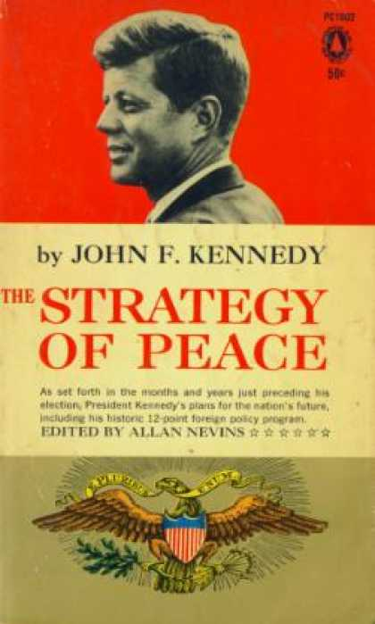 Popular Library - The Strategy of Peace - John F. Kennedy