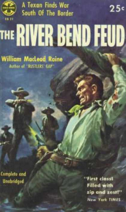 Popular Library - The River Bend Feud - William Macleod Raine