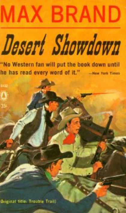 Popular Library - Desert Showdown - Max Brand
