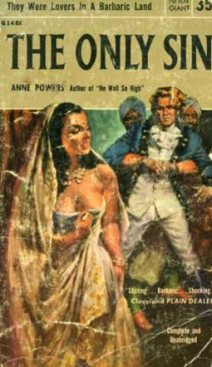 Popular Library - The Only Sin,: A Novel - Anne Powers