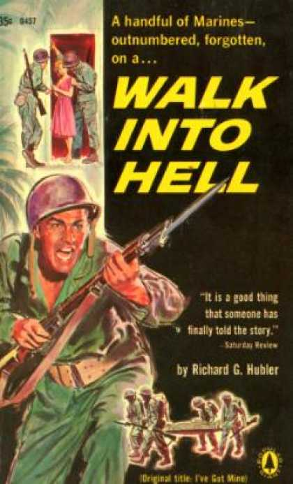 Popular Library - Walk Into Hell - Richard Gibson Hubler