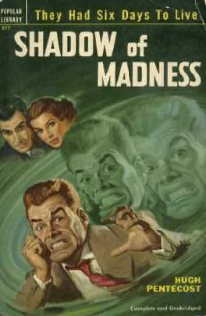 Popular Library - Shadow of Madness - Hugh Pentecost