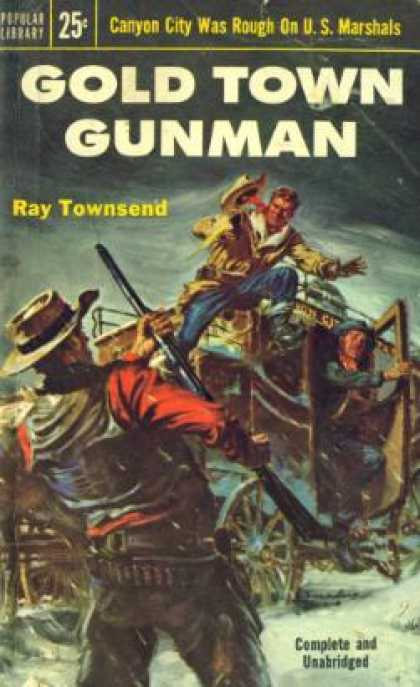 Popular Library - Gold Town Gunman - Ray Townsend