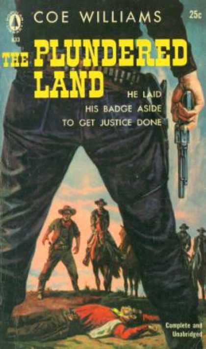 Popular Library - The Plundered Land - Coe Williams