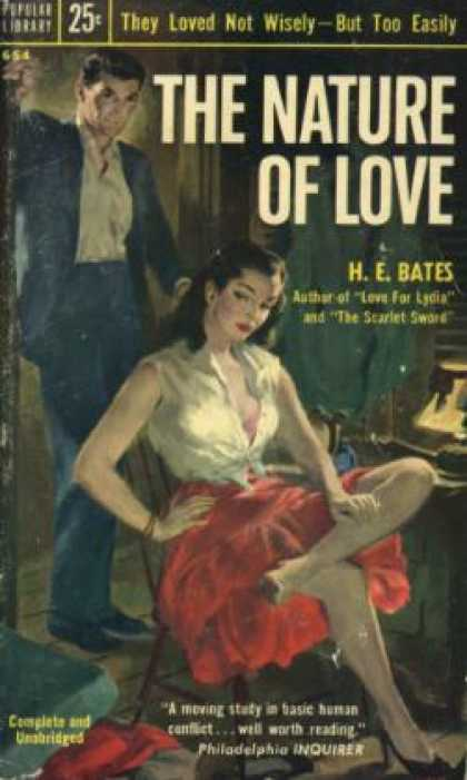 Popular Library - The Nature of Love - H. E. Bates