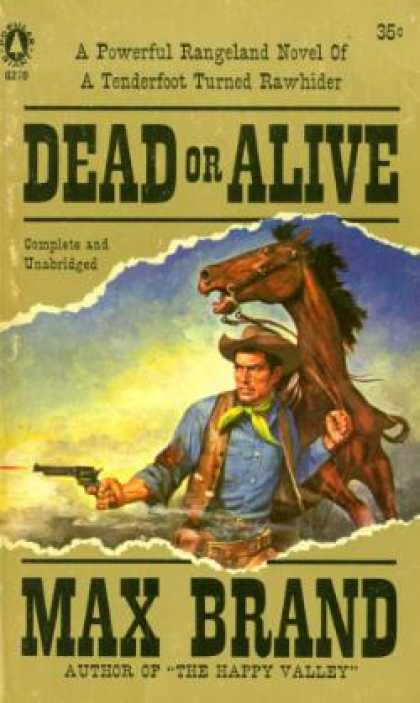 Popular Library - Dead or Alive - Max Brand