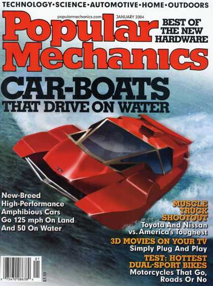 Popular Mechanics - January, 2004